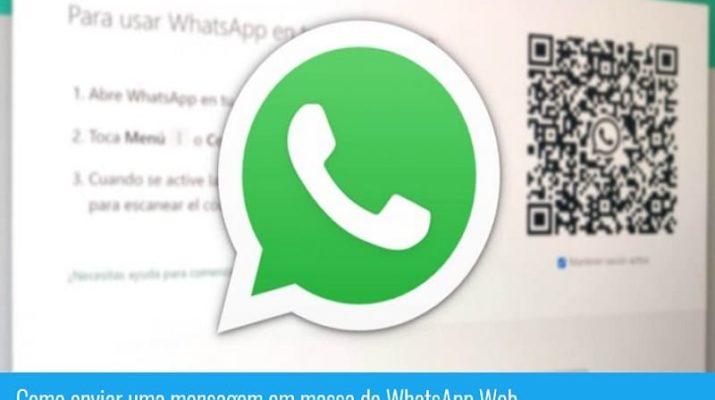 como enviar mensagem para varios contatos no whatsapp web